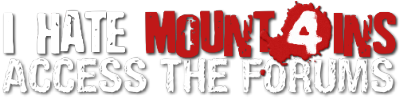 Access the I Hate Mountains forums
